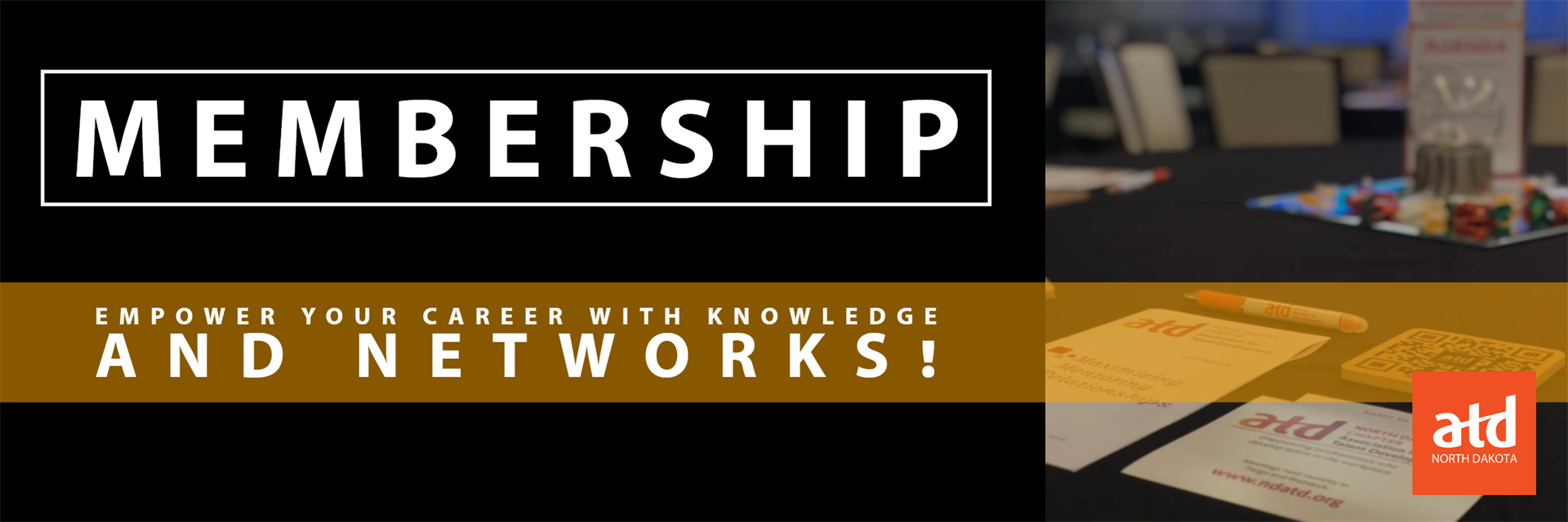Header image. Membership. Empower your career with knowledge and networks.