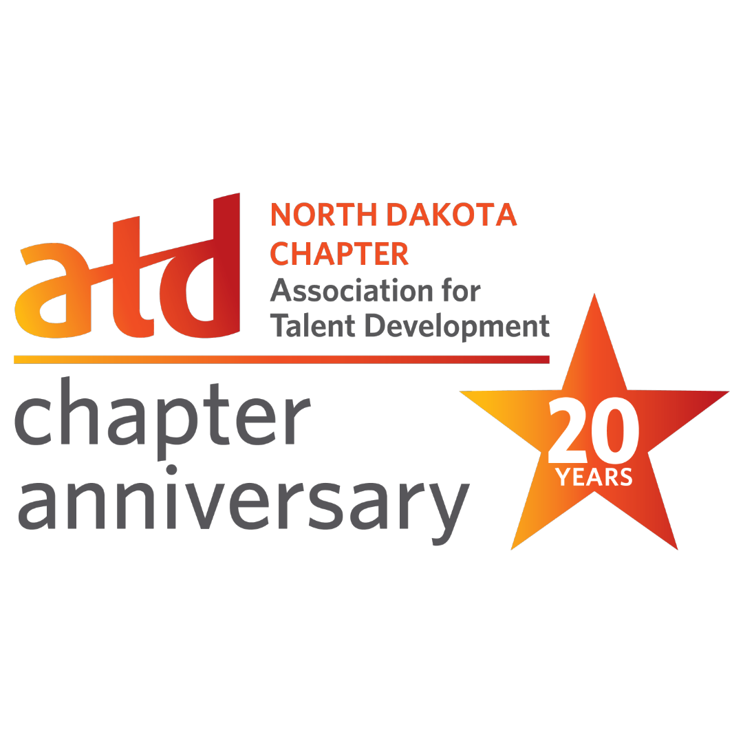 Image of the ATD North Dakota Chapter Logo. Celebrating a 20 year anniversary.